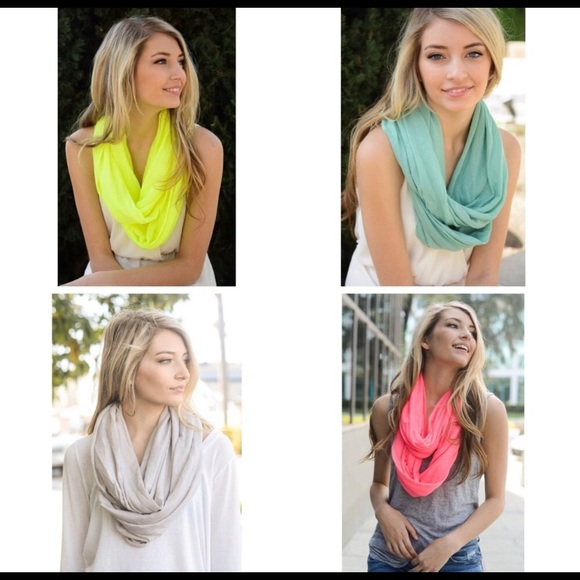 Couture Gypsy Accessories - Infinity Scarves